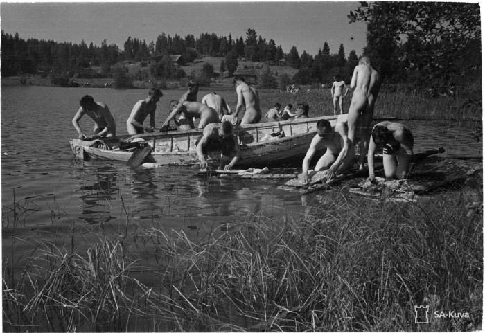 Чистота на войне. Хямекоски, 1941 год.