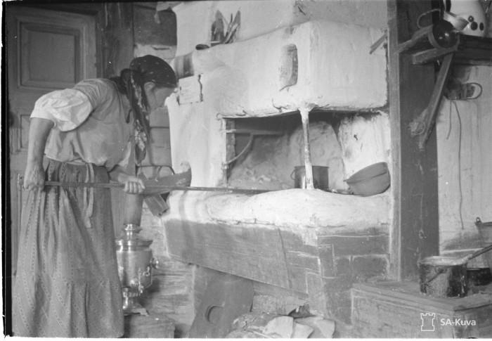 Вдалике от войны. Карельское село, 1941 год.