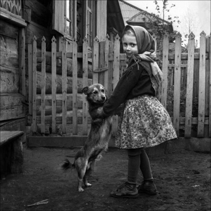 Фотография, сделанная в одном из сёл Красноярского края.