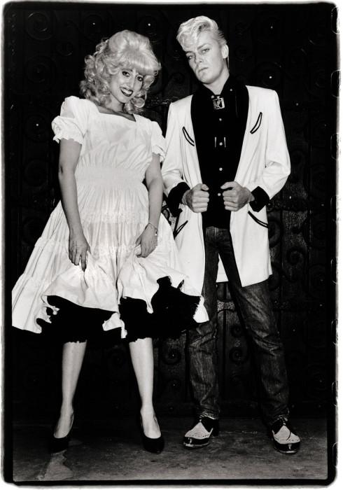Кэти К и Джон Секс. США, Нью-Йорк, 1981 год. Автор: Amy Arbus.