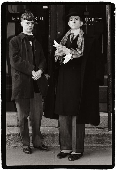 Господа. США, Нью-Йорк, 1983 год. Автор: Amy Arbus.