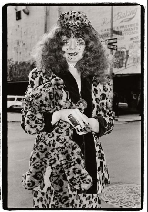 Элке Кошка. США, Нью-Йорк, 1983 год. Автор: Amy Arbus.