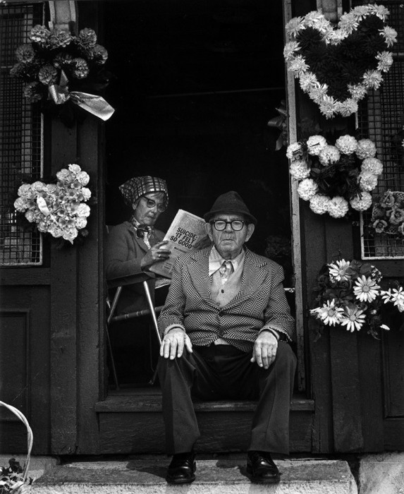 Цветочный магазин. США, Мадисон, 1971 год.