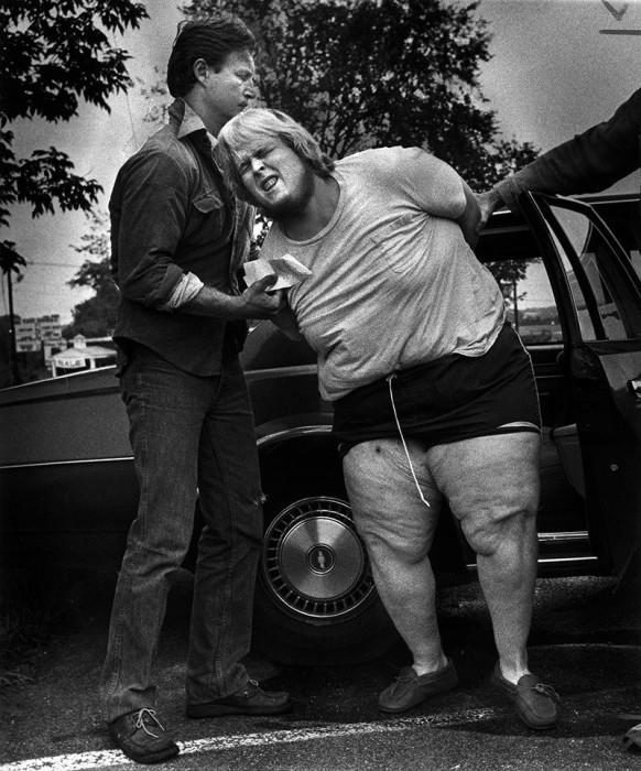 Арест подозреваемого. США, Леоминстер, 1980 год.