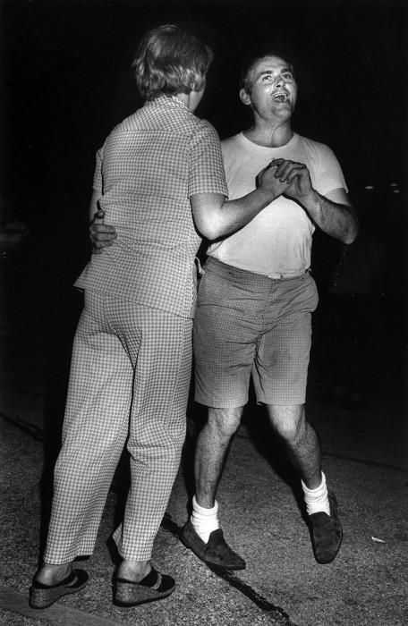 Уличный танцы. США, 1975 год.