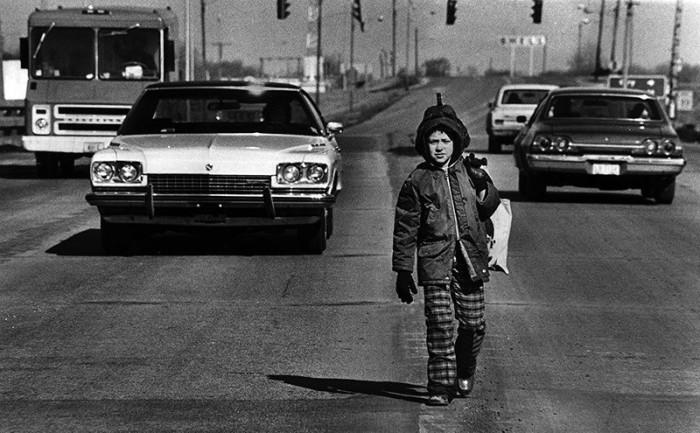 США, округ Уэйн, штат Мичиган, Кеннеди Авеню, 1976 год.
