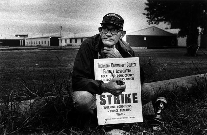 Забастовки учителей в США, 1975 год.