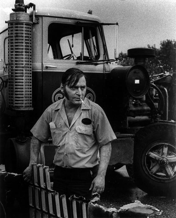 Водитель-дальнобойщик. США, Хаммонд, 1975 год.