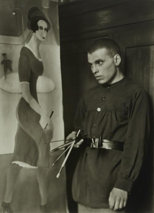 Известный немецкий художник и профессор. Германия, 1924 год.
