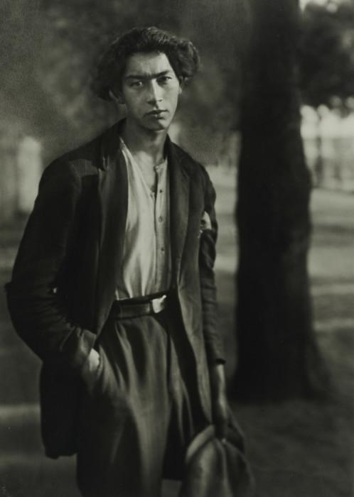 Портретный снимок ромала, 1930 год.