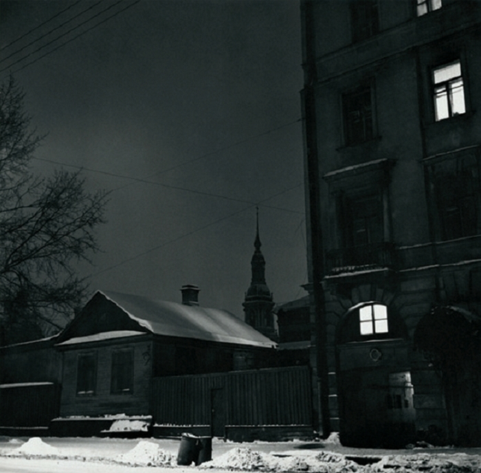 Традиционное жилище. СССР, Ленинград, 1976 год. Автор фотографии: Boris Smelov.