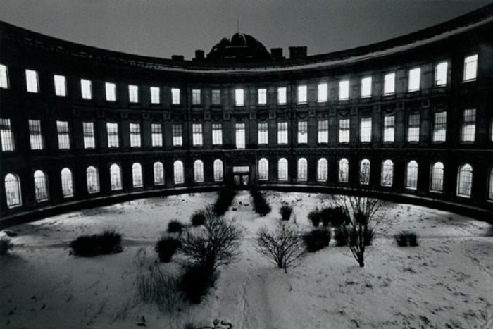 Художественный музей, который находится в здании Императорской Академии художеств на Университетской набережной. СССР, Ленинград, 1985 год. Автор фотографии: Boris Smelov.