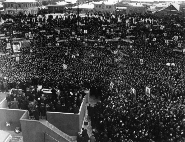 Выборы Иосифа Сталина в Верховный Совет СССР, 1937 год.