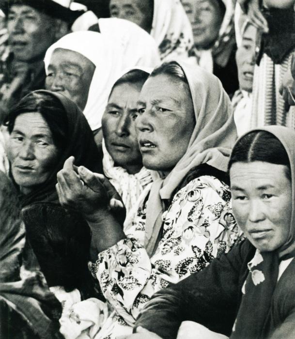 Женщины Киргизии. СССР, 1950-е годы.