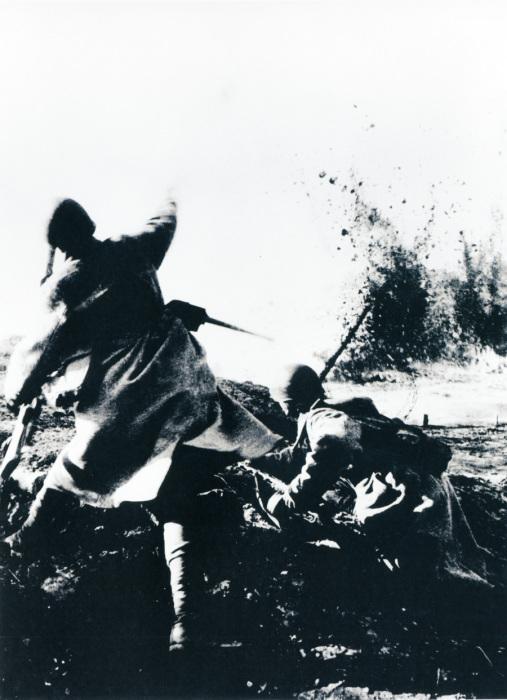 Ближний бой при попытке стратегического наступления советских войск, 1942 год.
