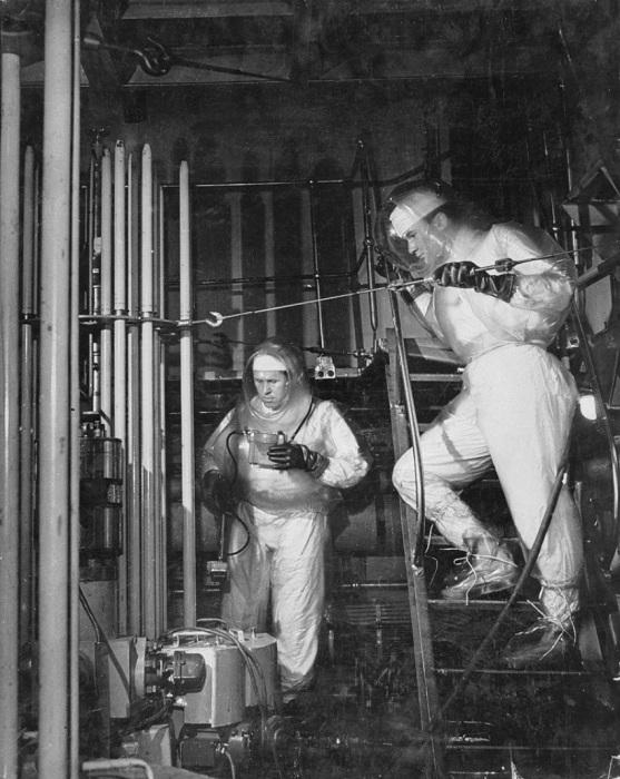 Мирный атом, 1956 год.