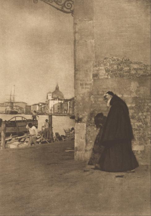Монах католического нищенствующего ордена.