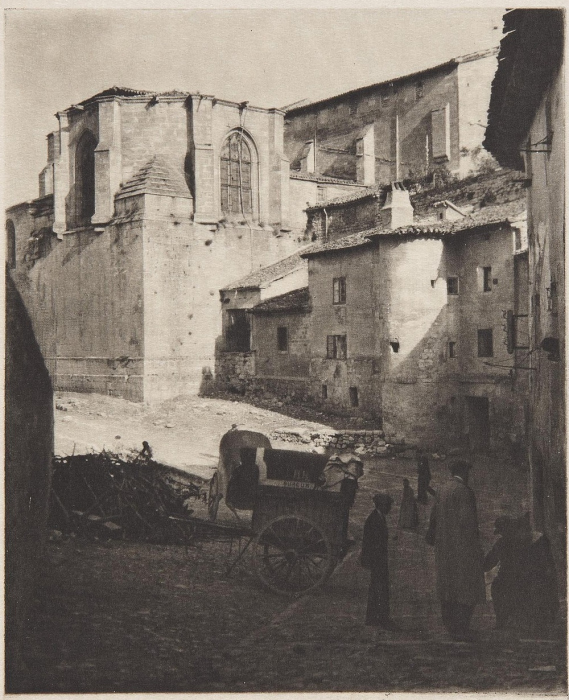 Старая католическая церковь в Бургосе, 1914 год.