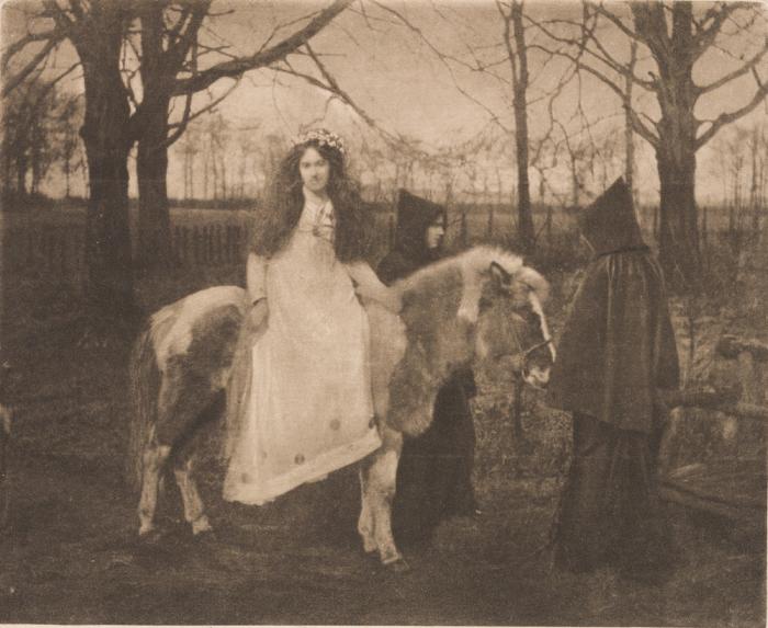 Религиозный ритуал, который имеет глубокие европейские корни, 1893 год.