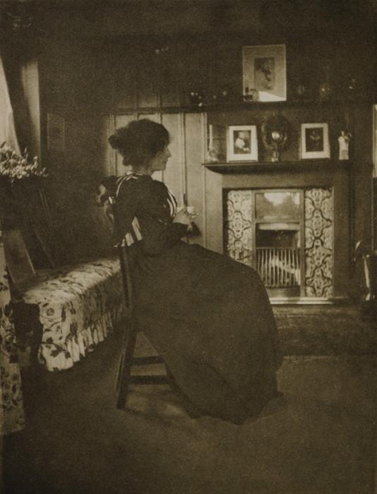 Традиционное английское чаепитие, 1897 год.