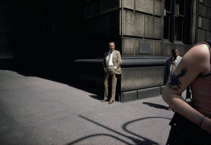 Одинокий бизнесмен. Америка, Нью-Йорк, 1974 год.