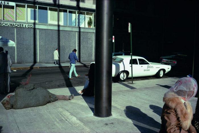 Нищета и богатство. Америка, Нью-Йорк, 1974 год.