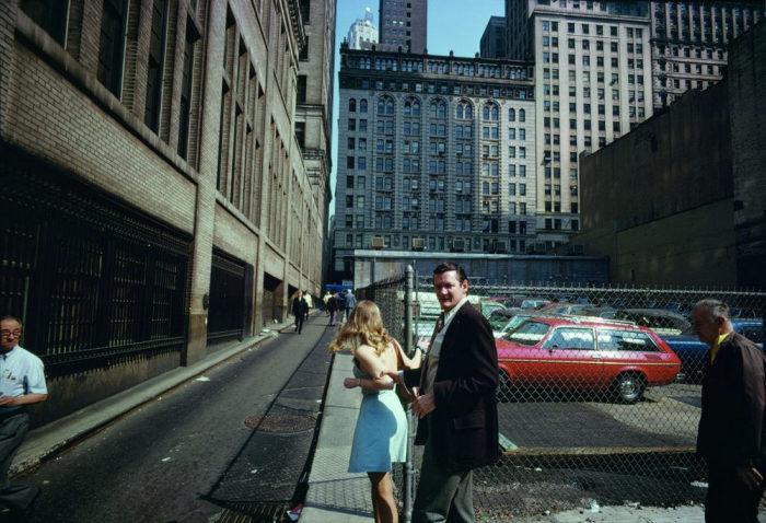Уличная фотография в духе Анри Картье-Брессона и Роберта Франка. Америка, Нью-Йорк, 1976 год.