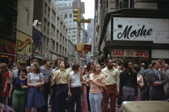Мода второй половины XX века. Америка, Нью-Йорк, 1975 год.
