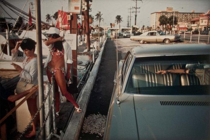 Девушки в бикини. Соединённые Штаты Америки, Флорида, 1968 год.