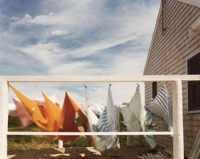 Сушка белья. Соединённые Штаты Америки, Провинстаун, 1976 год.
