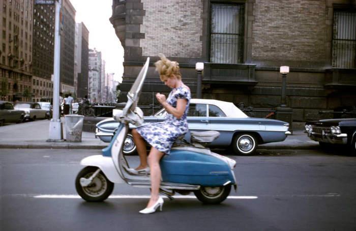 В центре мегаполиса. Соединённые Штаты Америки, Нью-Йорк, 1963 год.
