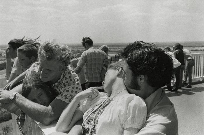 Поцелуй. Соединённые Штаты Америки, Техас, 1968 год.