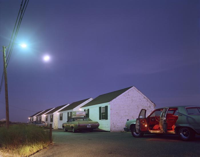 Ретро автомобили. Соединённые Штаты Америки, Провинстаун, 1976 год.