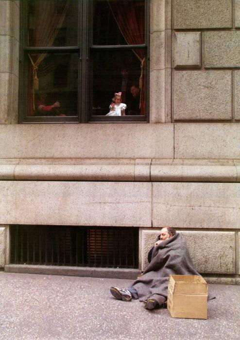 Без определённого места жительства. Соединённые Штаты Америки, Нью-Йорк, Пятая авеню.