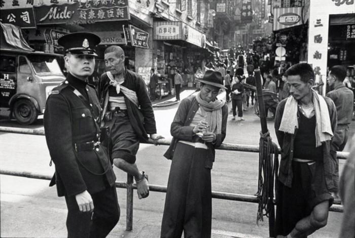 Полицейский Гонконга, 1960 год.