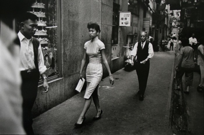 Уличная сцена. Гонконг, 1960 год.