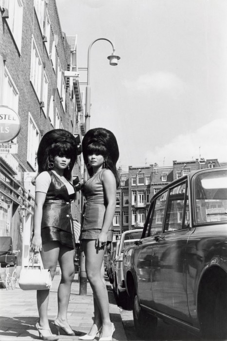 Две тайские женщины в Амстердаме в 1963 году.