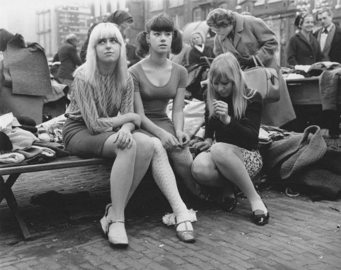 Студентки. Франция, Париж, 1950-е годы.