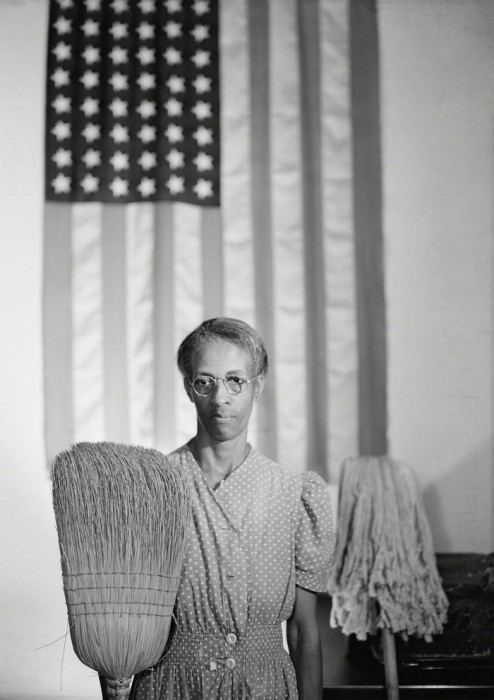 «Американская готика». США, Вашингтон, 1942 год.
