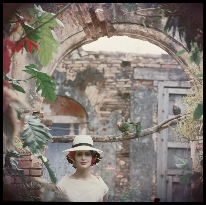 Портретная фотография. Куба, 1958 год.