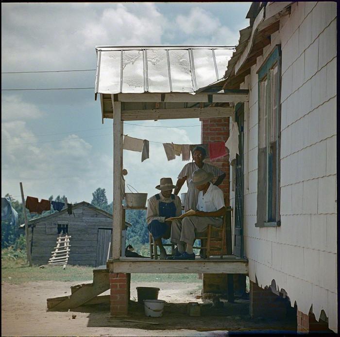 Местные жители. Соединённые Штаты Америки, Алабама, 1956 год.