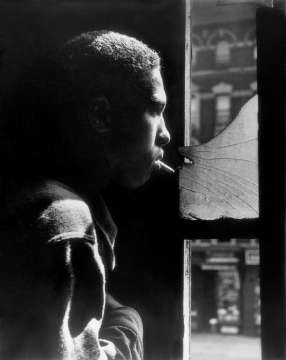 Предводитель банды в Гарлеме. США, Нью-Йорк, 1958 год.