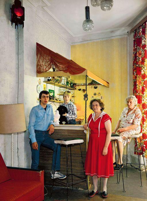 Советские люди, проживающие на территории Восточного Берлина.