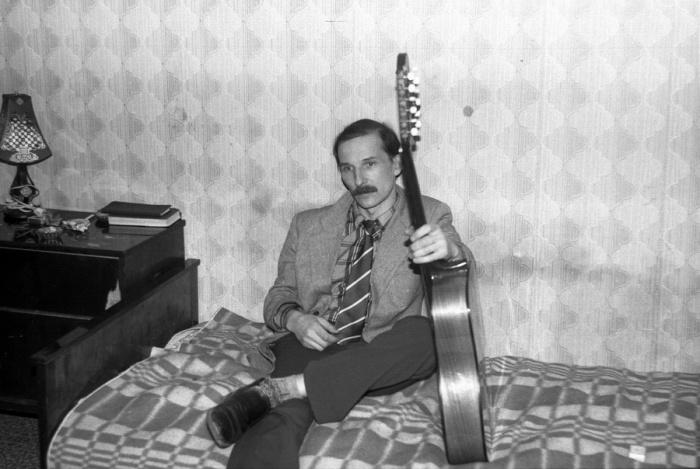 Петр Мамонов. СССР, Москва, 1985 год. Автор фотографии: Igor Mukhin.