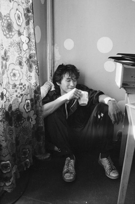 Неформальная обстановка. СССР, Москва, 1986 год. Автор фотографии: Igor Mukhin.