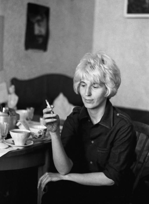 Писательница Юлия Вознесенская. СССР, Ленинград, 1976 год.