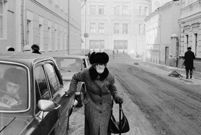 СССР, Москва, улица Грибоедова, 1978 год.
