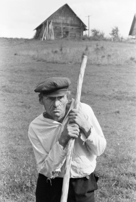 Косарь. Псковская область, Печоры, 1983 год.