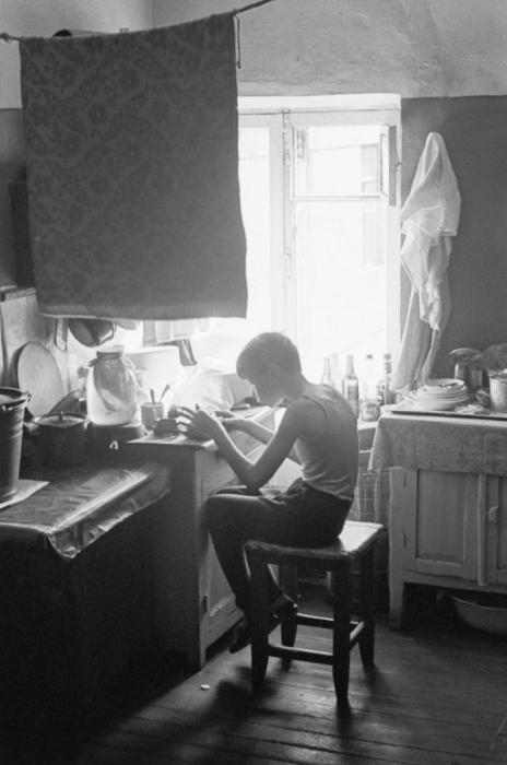 СССР, Москва, Коммунальная квартира, 1972 год.