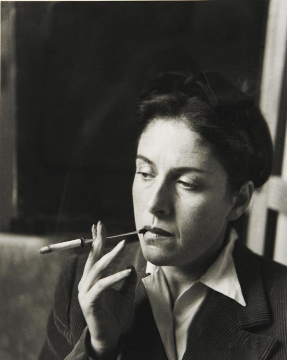 Французская художница и фотограф, 1940 год.